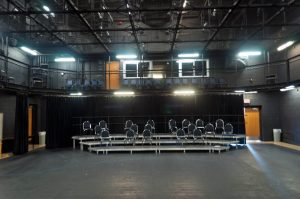 The black box theatre