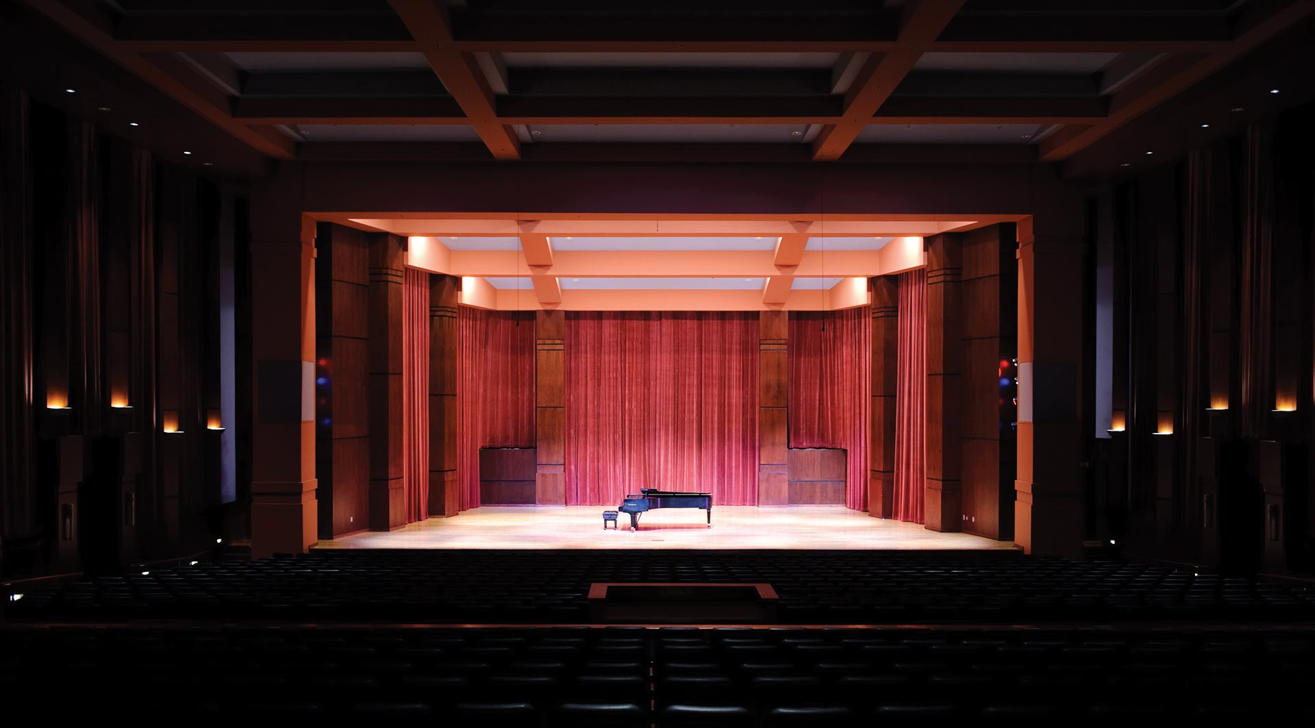 Riceland Hall Stage