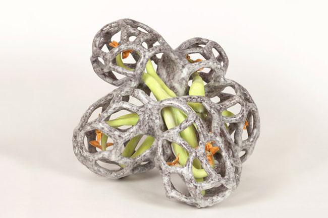 Bradley Sabin Cage VII, 2016 ceramic